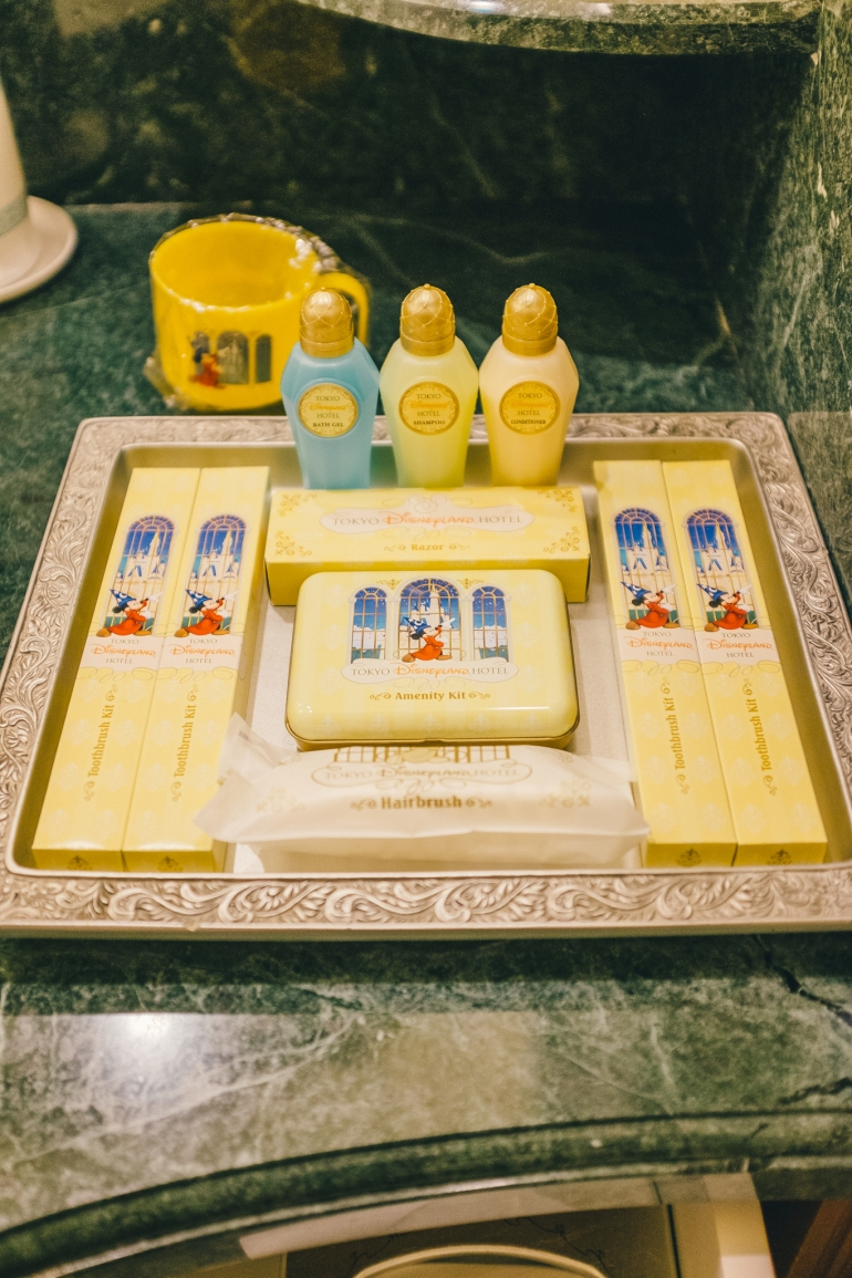 Tokyo Disneyland Hotel toiletries