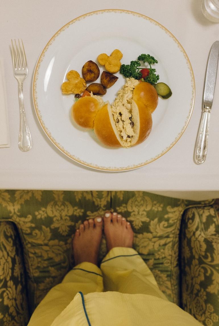 Tokyo Disneyland Hotel room service