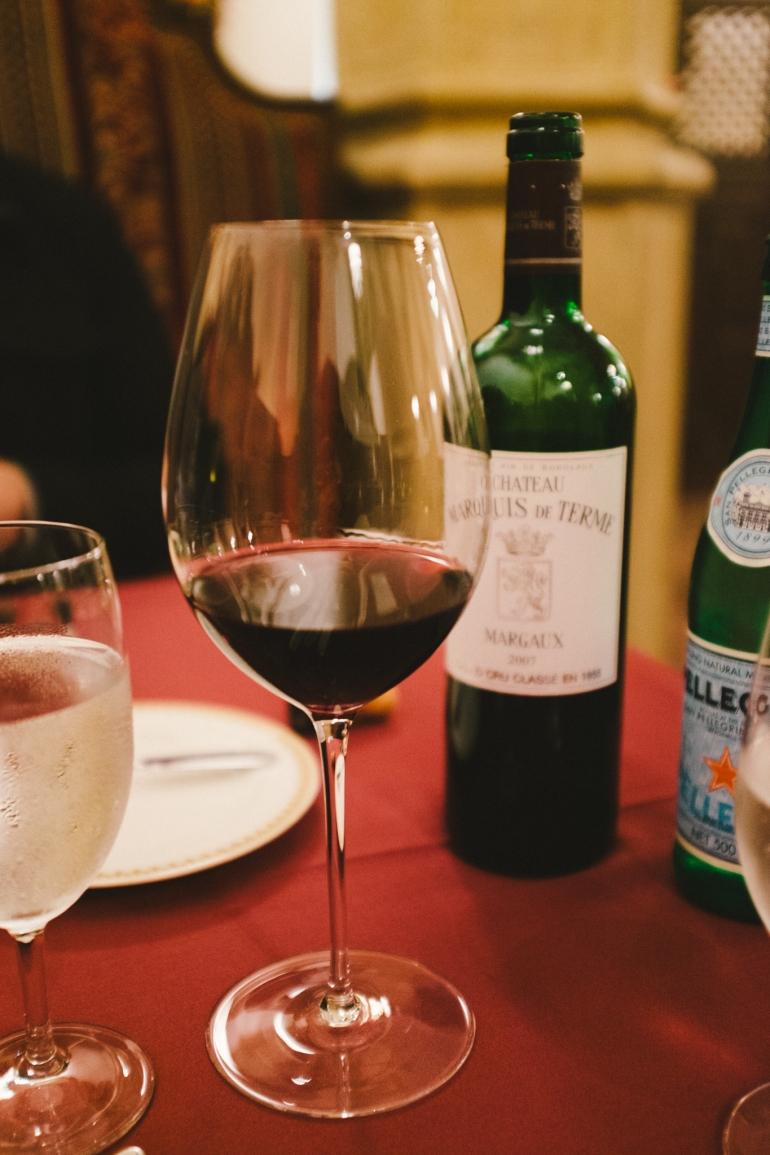 Tokyo DisneySea - Magellan's wine