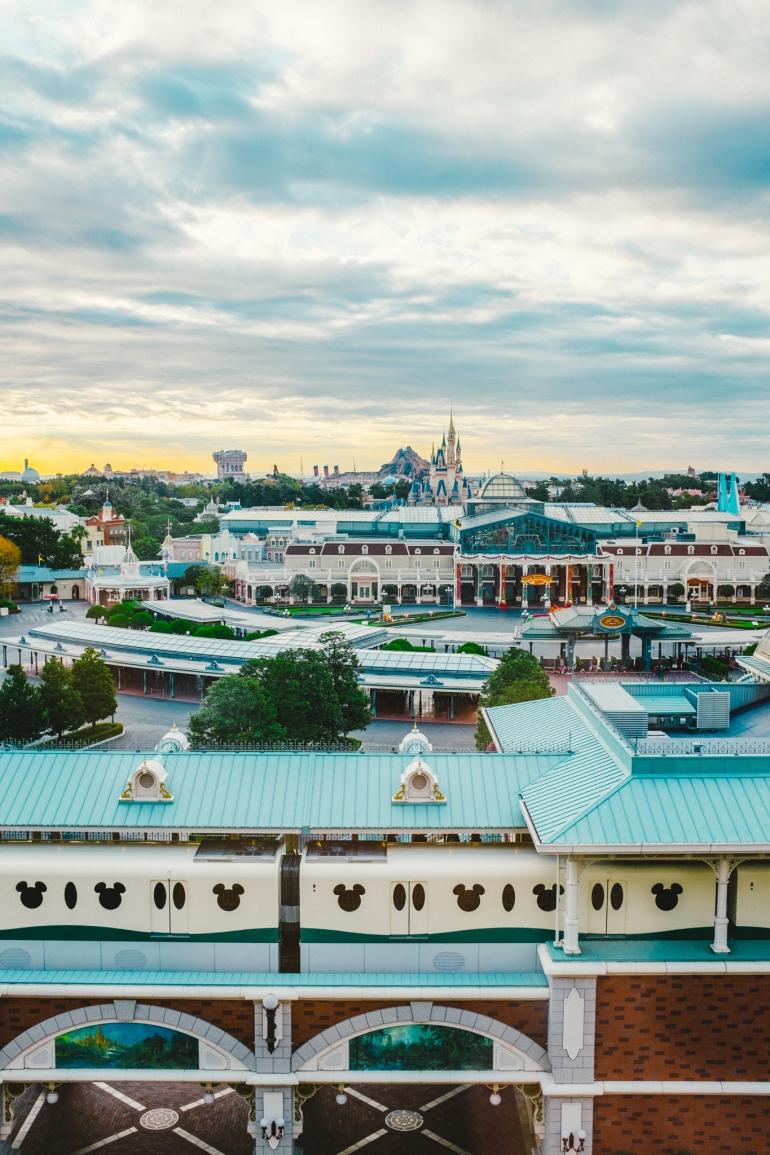 Tokyo Disneyland Hotel view