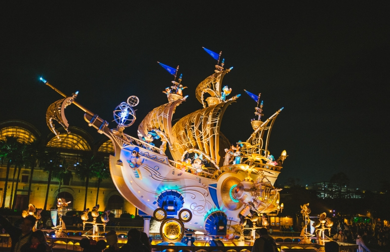 DisneySea Ship