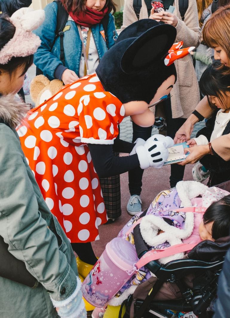 Tokyo Disneyland Minnie