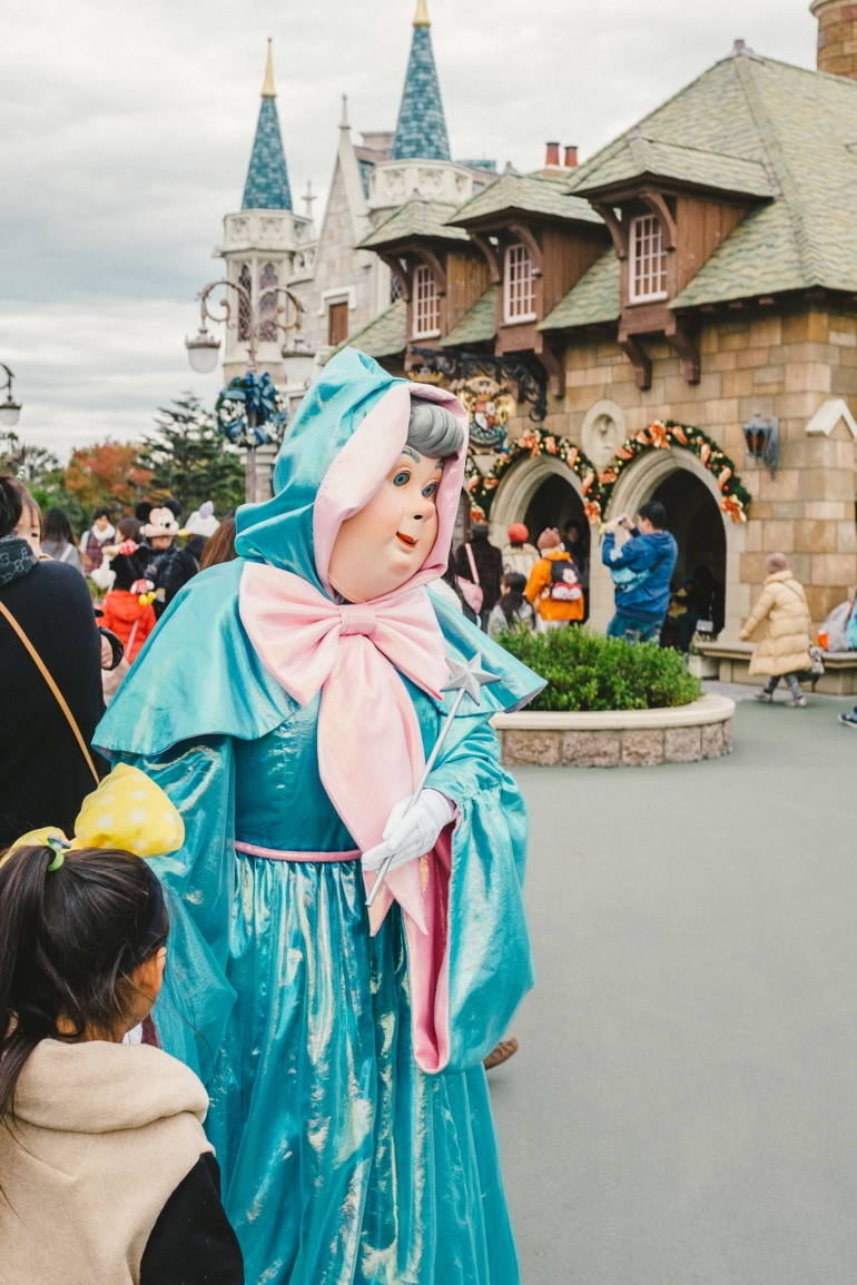 Tokyo Disneyland fairy godmother