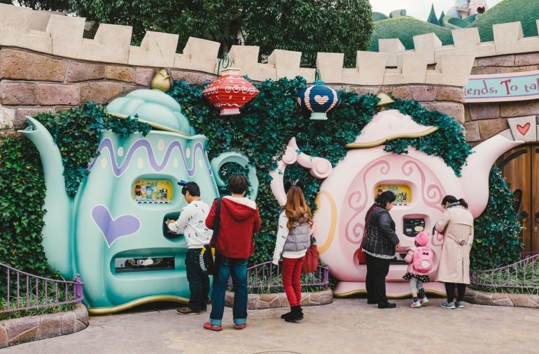 Tokyo Disneyland teapots