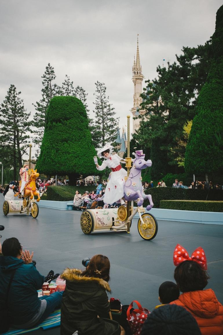 Tokyo Disneyland Mary & Bert