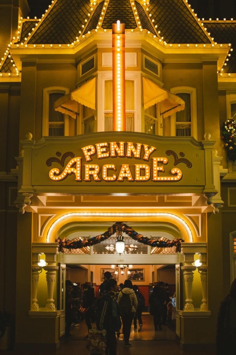 Tokyo Disneyland Penny Arcade