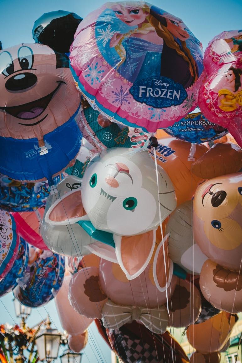 DisneySea balloons