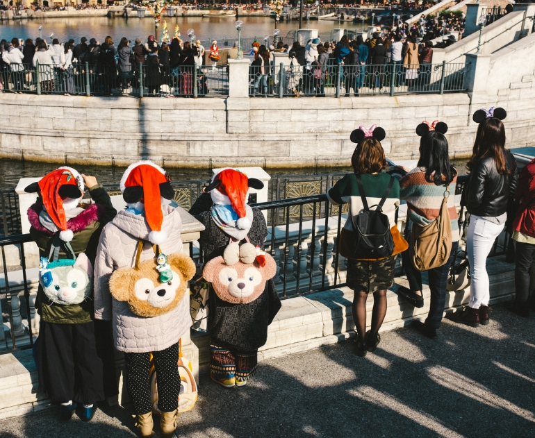 DisneySea backpacks
