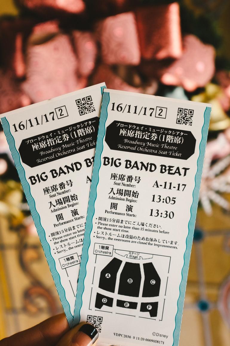 DisneySea Big Band Beat