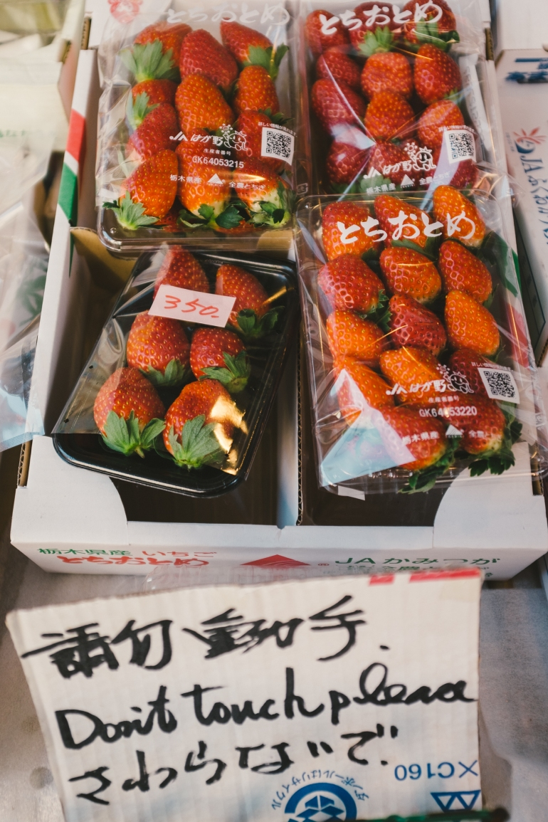 Asakusa strawberries