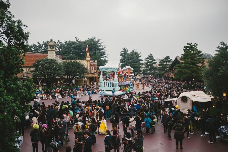 TokyoDisneyland parade