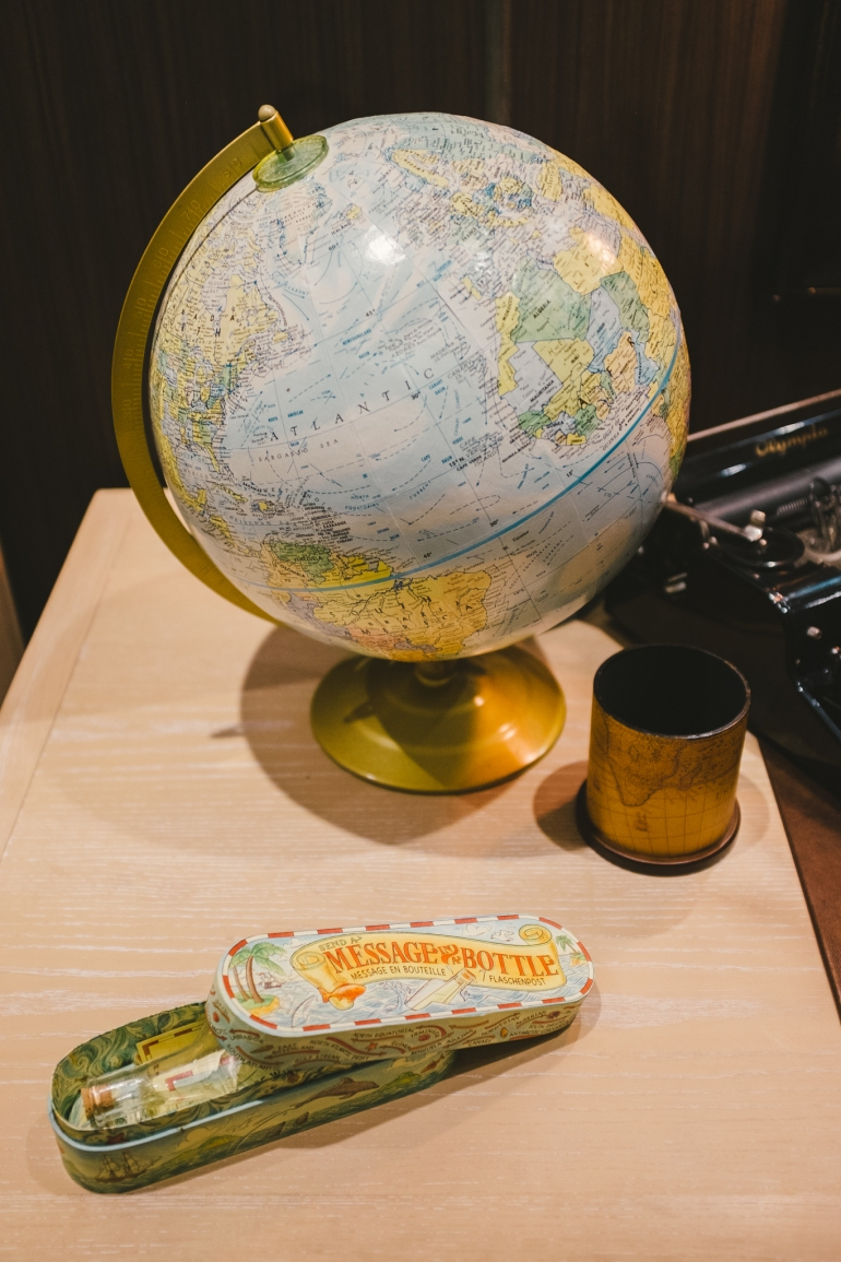 Globe again