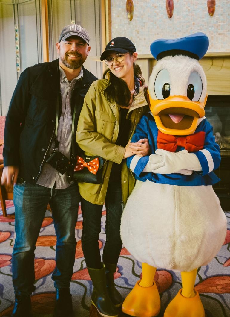 Disney's Grand Californian Donald