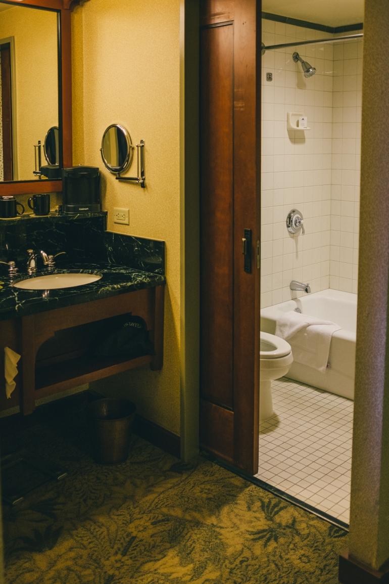 Disney's Grand Californian bathroom