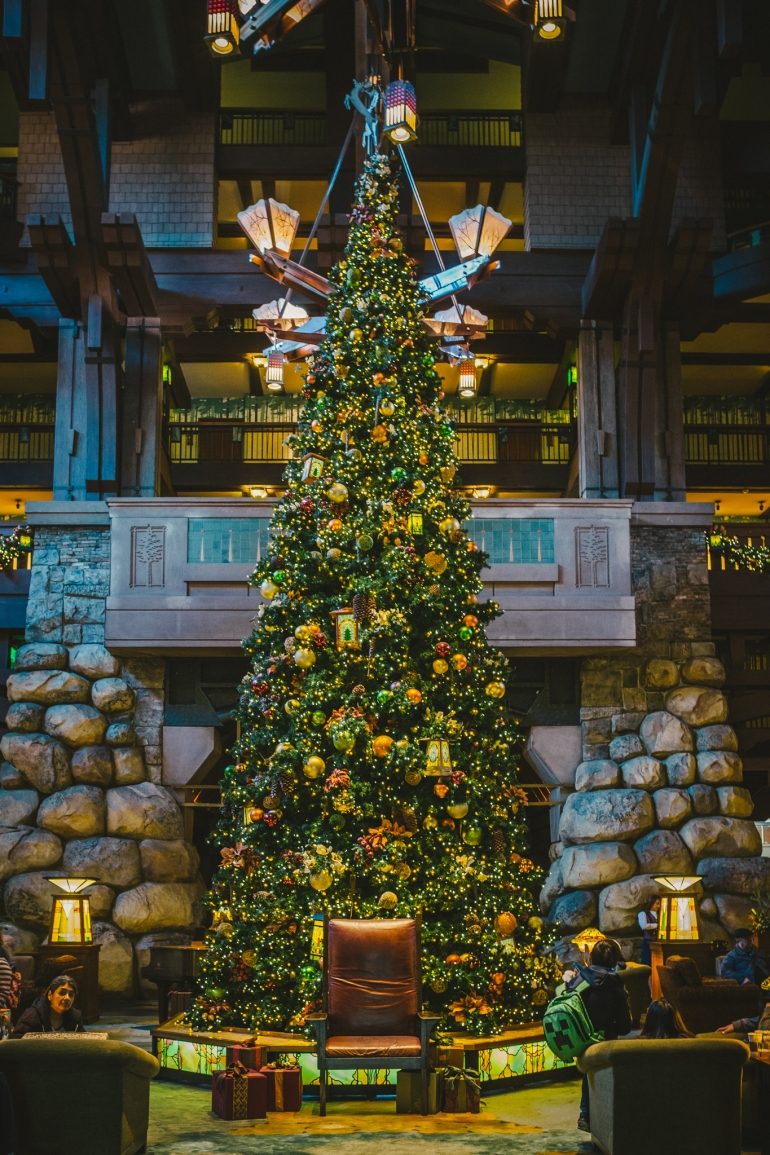 Disney's Grand Californian tree