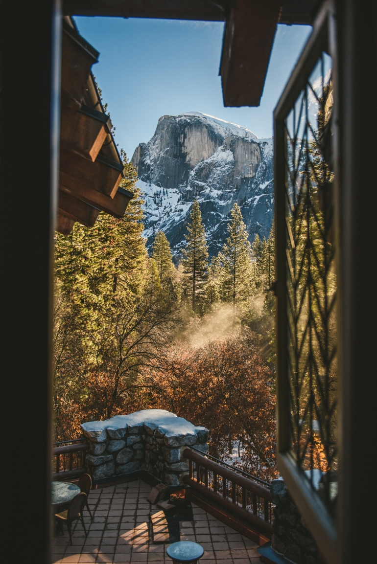 Majestic Yosemite Hotel views