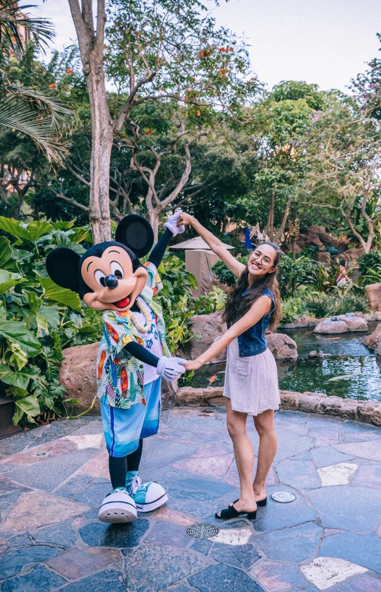 Aulani Makahiki Mickey