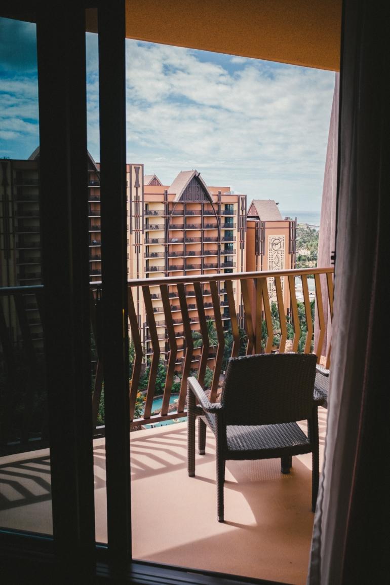Aulani balcony