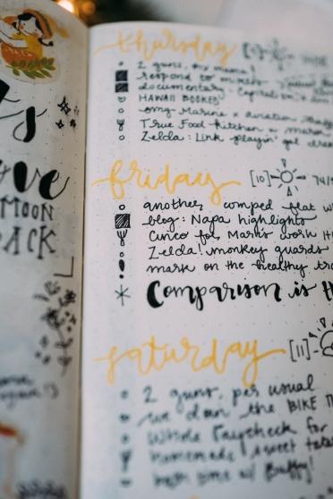 How I Bullet Journal Whereiskirstie