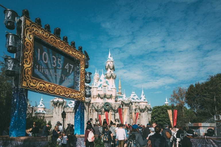 Disneyland NYE