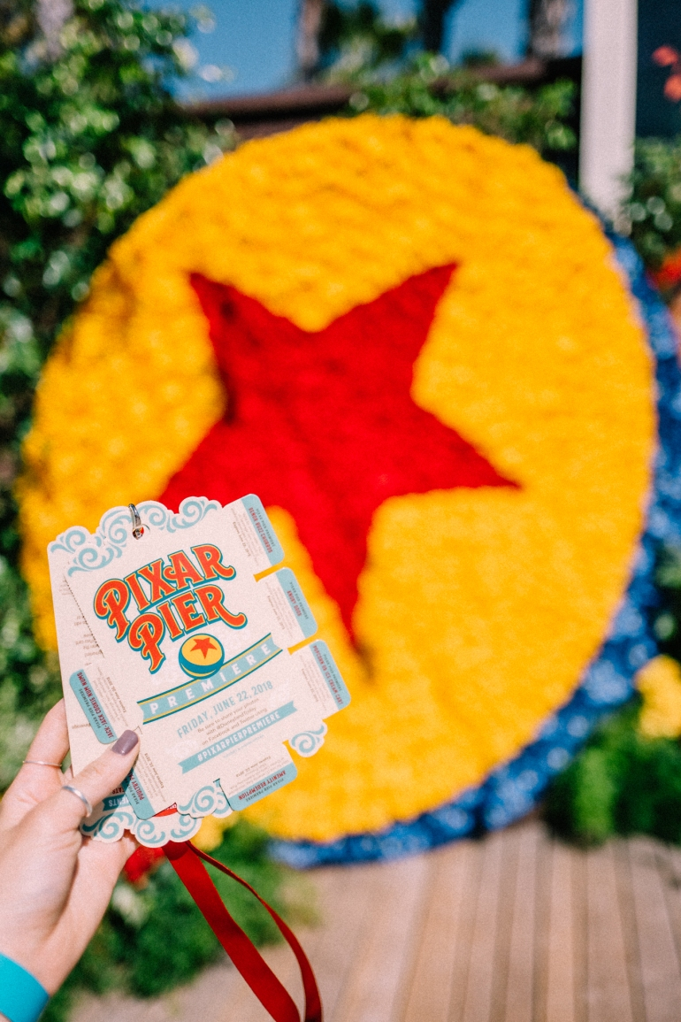 Pixar Pier lanyard