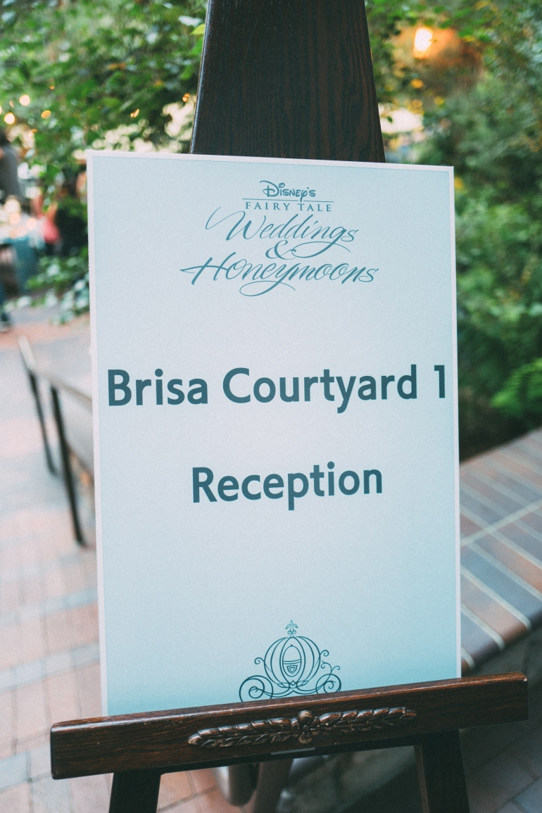 Disney Weddings Brisa Courtyard