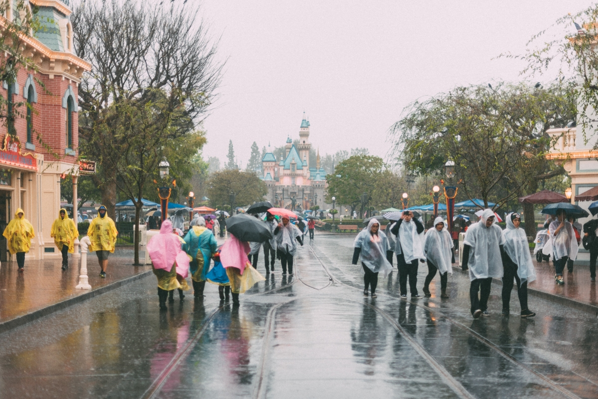 How to do Disneyland in the rain